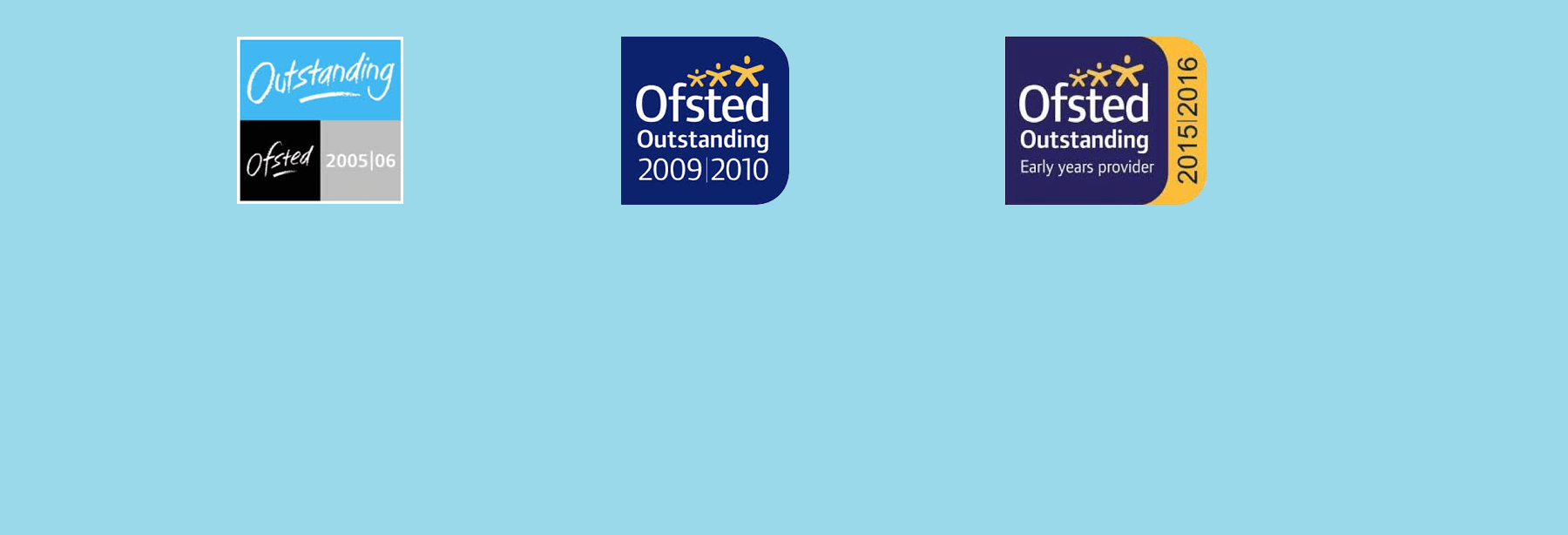 3x Ofsted Outstanding