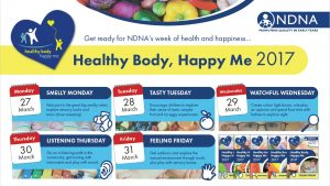 NDNA – Healthy Body, Happy Me 2017 Week