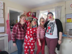 Crazy Staff getting involved in the RED NOSE DAY fun!! – Babies