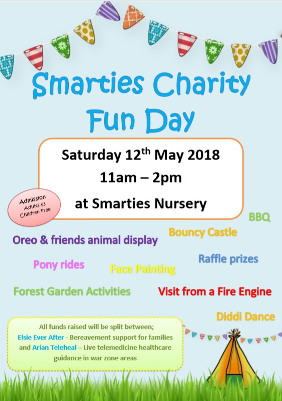 Smarties Charity Fun Day 2018