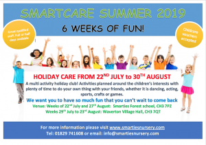 Smartcare Summer Holiday Club